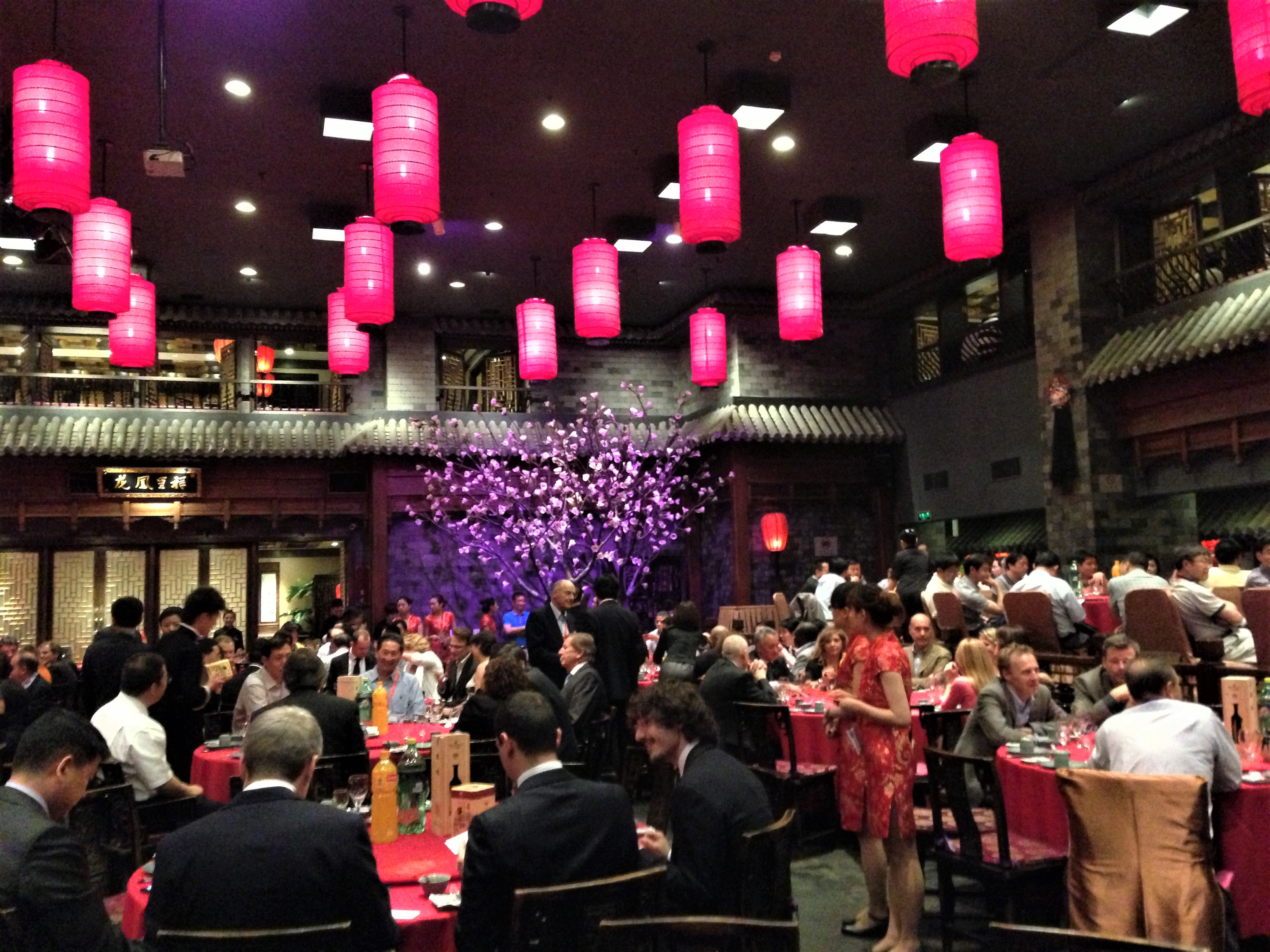 Welcome Dinner Event in Beijing, China