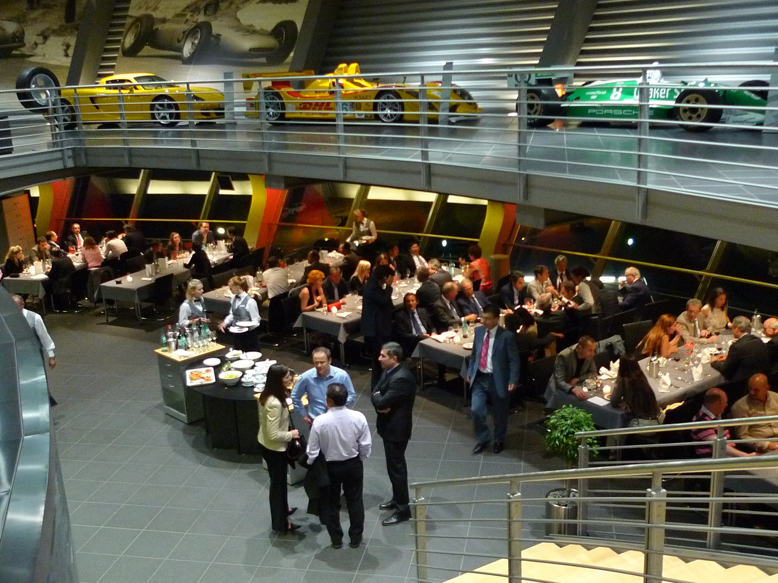 Event at Porsche Center, Leipzig, Germany